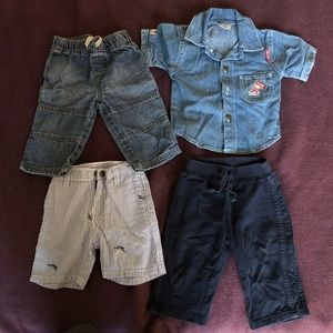 Other - Shirt+pants bundle for boy 6-9 months